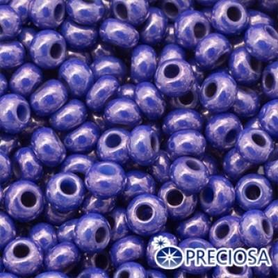 Бисер Preciosa 10/0 цв. 63022, Естественный Непрозрачный NO, Фиолетовый, Круглый, (УТ0011276) - 26402-10-g