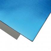 007 Фоамиран металлизированный, голубой, 21*29.7см, уп.5шт , Код товара: 1058881