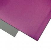 004 Фоамиран металлизированный, пурпурный, 21*29.7см, уп.5шт , Код товара: 1058878