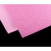 006 Фоамиран махровый (плюшевый), розовый, 21*29.7см, уп.5шт, Код товара: 1058863
