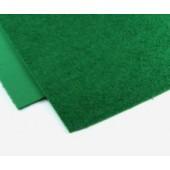013 Фоамиран махровый (плюшевый), зеленый, 21*29.7см, уп.5шт, Код товара: 1058865