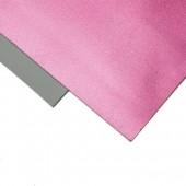 003 Фоамиран металлизированный, розовый, 21*29.7см, уп.5шт , Код товара: 1058877
