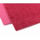001 Фоамиран махровый (плюшевый), красный, 21*29.7см, уп.5шт, Код товара: 1058861