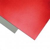 001 Фоамиран металлизированный, красный, 21*29.7см, уп.5шт , Код товара: 1058875