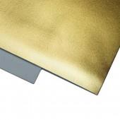 002 Фоамиран металлизированный, золото, 21*29.7см, уп.5шт , Код товара: 1058876