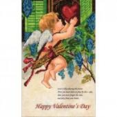 10115 День Св.Валентина 1. Краса і творчість. Схема на ткани для вышивания бисером