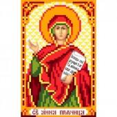3018 Святая Анна Пророчница. Матренин Посад. Схема на ткани для вышивания бисером