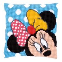 PN-0167234 Набор для вышивания крестом (подушка) Vervaco Disney Minnie Mouse Peek-a-boo, Код товара: 1060454