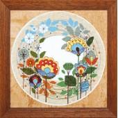 ВТ-1006 Набор для вышивания Crystal Art Цветочный круговорот, Код товара: 1053025