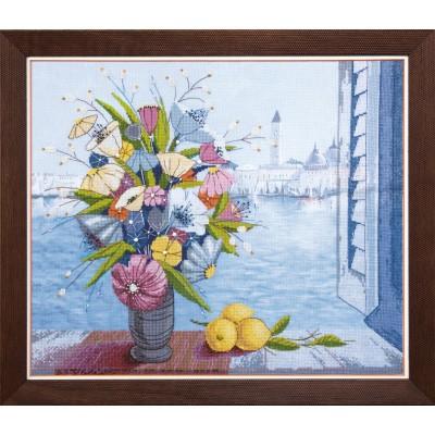 ВТ-514 Набор для частичной вышивки крестиком Crystal Art Утро в Венеции, Код товара: 1053725