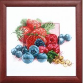ВТ-1003 Набор для вышивания Crystal Art Черника, Код товара: 1052768