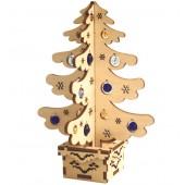 F-023 Набор новогоднее украшение из фанеры Новогодняя елка, Код товара: 1056674