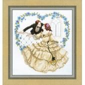 ВТ-1010 Набор для вышивания Crystal Art Пылкое признание, Код товара: 1053734
