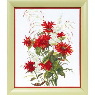 ВТ-1020 Набор для вышивания Crystal Art Красная рута, Код товара: 1056612