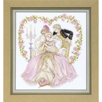 ВТ-1021 Набор для вышивания Crystal Art Тайная встреча, Код товара: 1055011