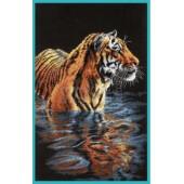 35222 Набор для вышивания крестом DIMENSIONS Спокойный тигр, Код товара: 1059043