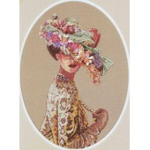 03823 Набор для вышивания крестом DIMENSIONS Викторианская элегантность, Код товара: 1058891